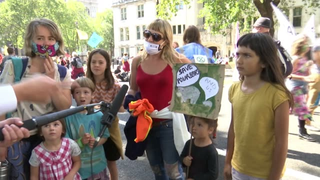 extinction rebellion protest: thousands of protesters demand government action on climate crisis; uk, london; extinction rebellion, xr,... - top of the pops stock videos & royalty-free footage
