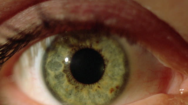 extreme close up eye opening - eyelid stock videos & royalty-free footage