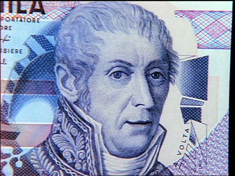 extreme close up montage of faces on bills on various international currencies - film montage stock videos & royalty-free footage