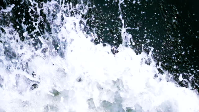 extreme close up of waves - water splash stock videos & royalty-free footage
