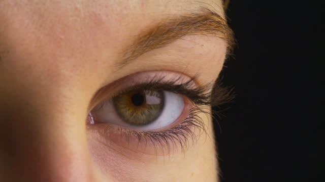 Extreme close up of woman's eye