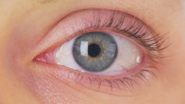 Extreme Close up of womans eye