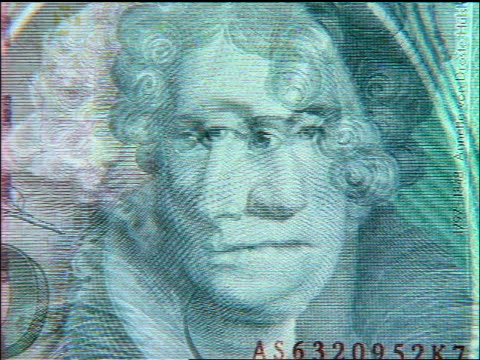 extreme close up zoom out faces on bills on various international currencies - film montage stock videos & royalty-free footage