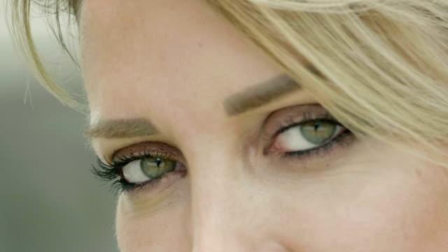 Extreme Close-Up : Beautiful Eyes