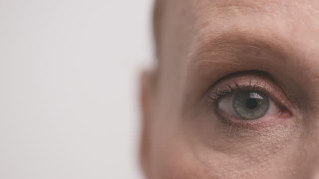 Extreme Closeup of Woman's Eye