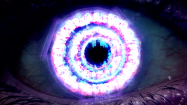 extreme eye zoom - origins stock videos & royalty-free footage