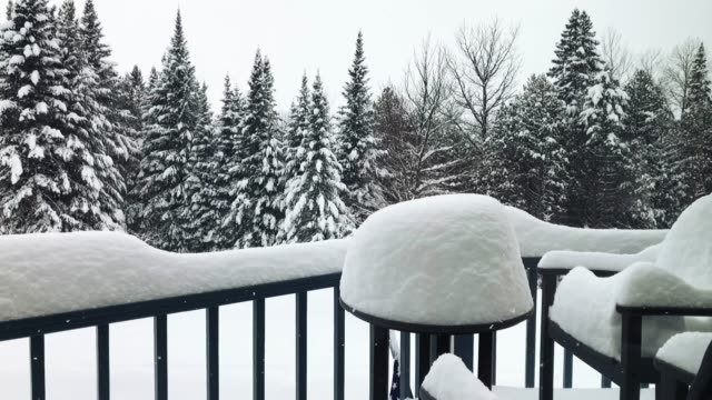 Extreme Snowfall in Vermont