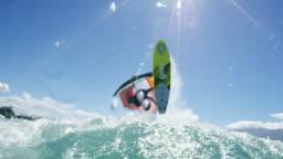 Extreme Sport Windsurfing