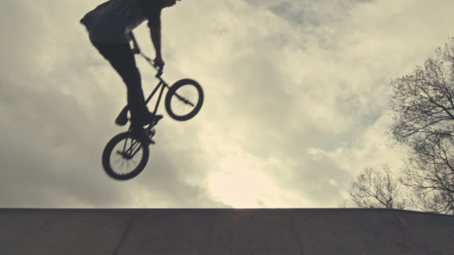 extreme sports - bmx cycling stock videos and b-roll footage