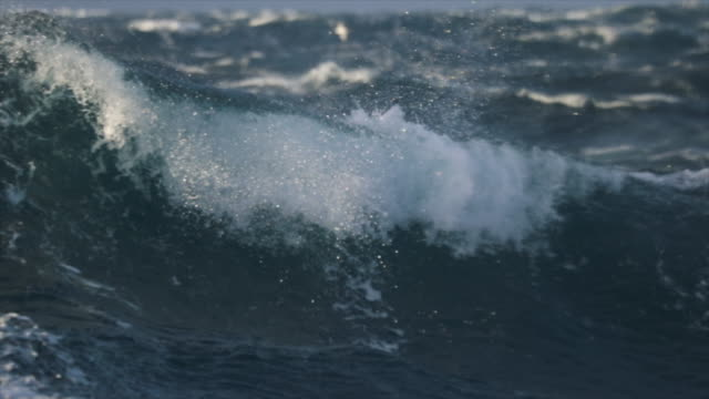 extreme stormy rough sea - rough stock videos and b-roll footage