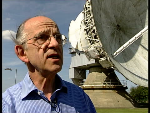 storm chasing Professor Keith Browning interview SOT here we've got the piece de resistance very large radar which enables us to see more than just...