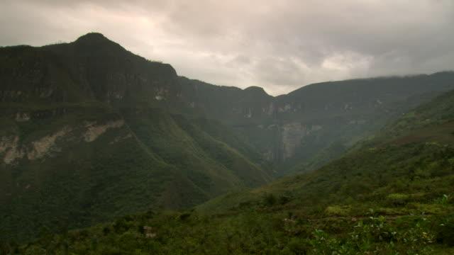 'Extreme wide of Gocta Falls [Catarata del Gocta], Peru [Perú]'