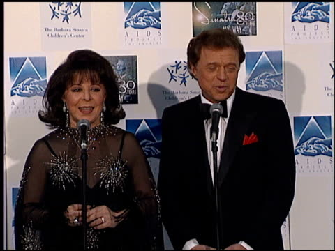 eydie gorme at the sinatra's 80 years my way at the shrine auditorium in los angeles, california on november 19, 1995. - shrine auditorium stock-videos und b-roll-filmmaterial