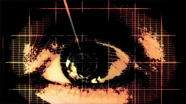 eye animation wathching untereinander austauschen - sehvermögen stock-videos und b-roll-filmmaterial