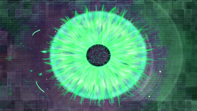 eye concept digital future - light natural phenomenon stock videos & royalty-free footage
