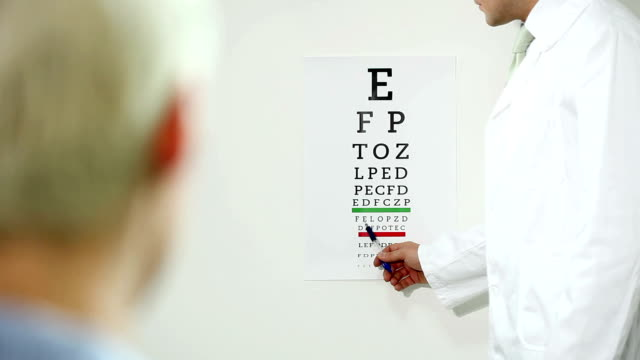 eye exam - optical equipment stock videos & royalty-free footage