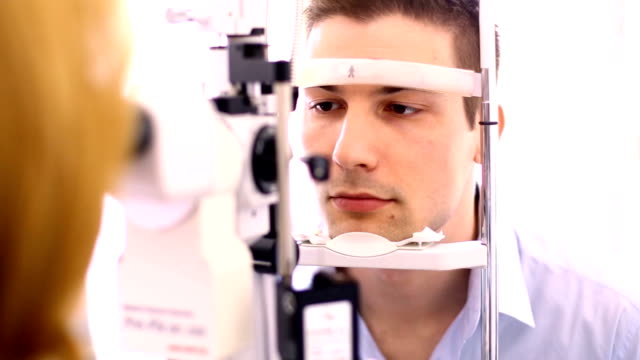 eye exam. - retina stock videos and b-roll footage