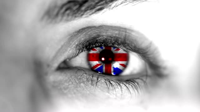 uk eye. hd - beauty queen stock videos and b-roll footage