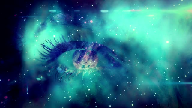 eye in space - extreme close up stock videos & royalty-free footage