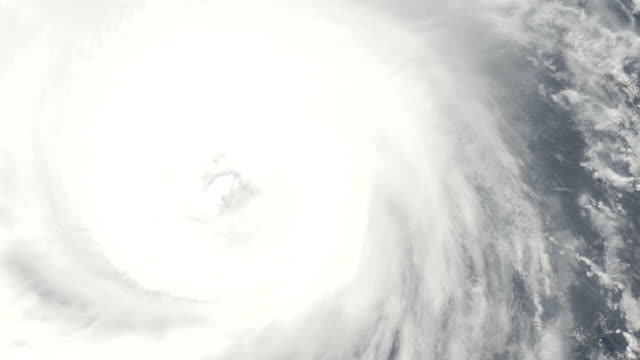 Eye of a cyclone