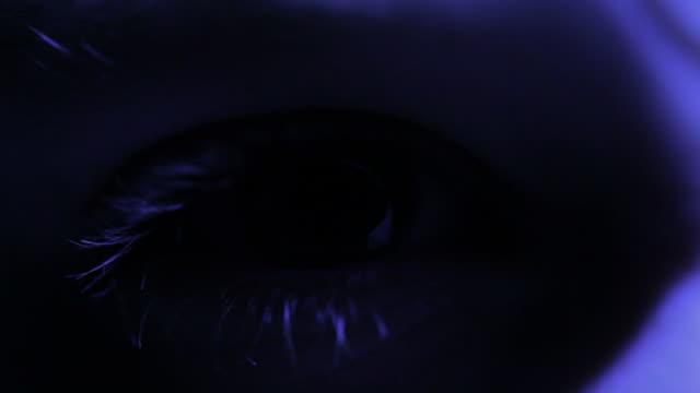 眼球スキャン - 網膜点の映像素材/bロール