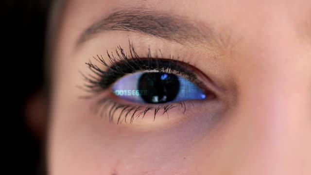 目を - ライトウェイト級点の映像素材/bロール