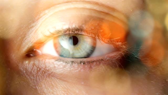 Eyeball Extreme Close up
