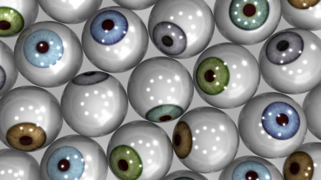 eyeballs: looking at you - bunch stock videos & royalty-free footage