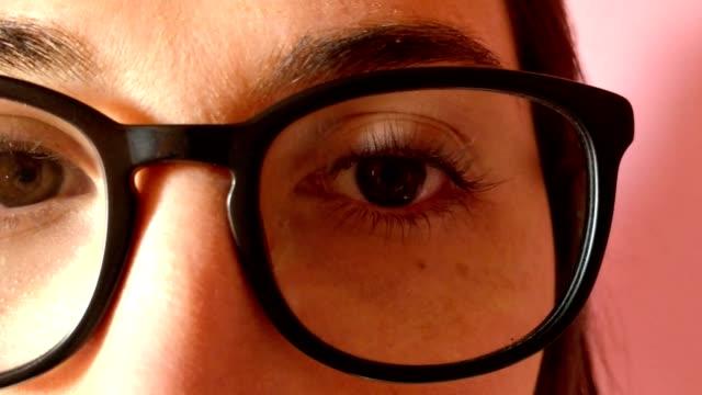 Lunettes yeux et sourcils