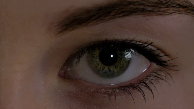 eyes close-up - lip liner stock videos & royalty-free footage