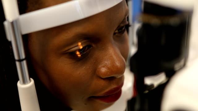 eyesight exam - human eye stock videos & royalty-free footage