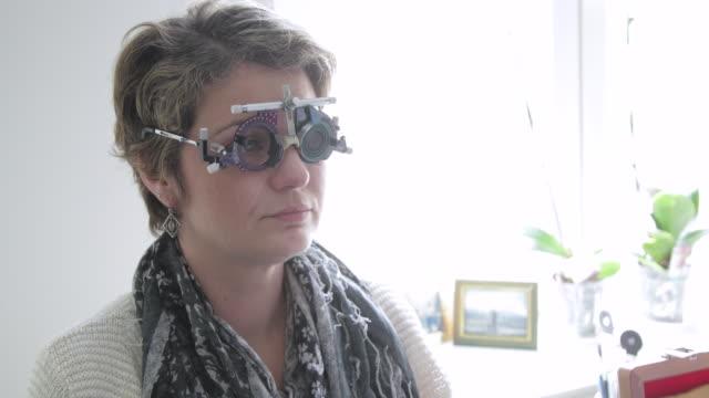 Eyesight testing