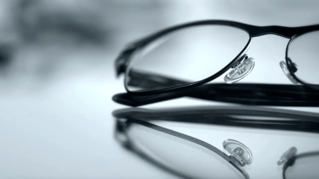 hd: eyewear optical series - eyeglasses stock videos & royalty-free footage