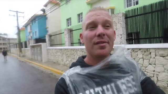 fabien stalheuer, a vlogger and https://www.facebook.com/fabsenpage?ref=br_rs holiday rep who lives in the dominican republic, shared videos of the... - turks and caicos islands stock videos & royalty-free footage