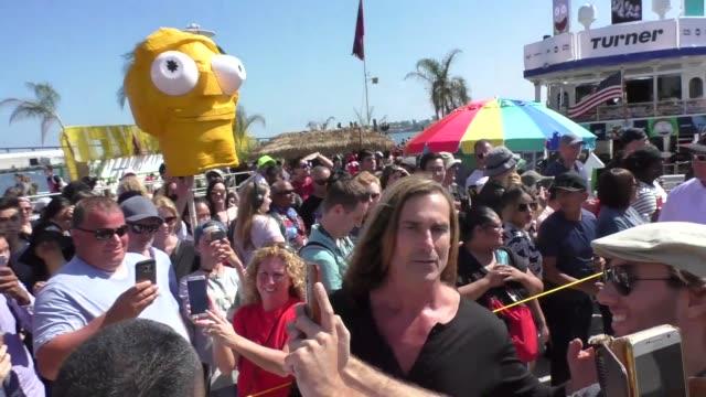 Fabio at Celebrity Sightings at San Diego ComicCon International on July 22 2017 in San Diego California