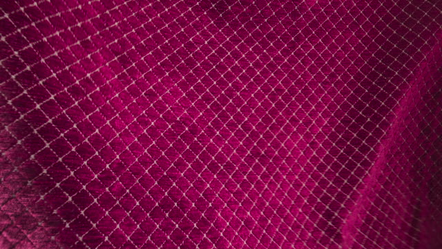 fabric blowing in the wind - gingham stock videos & royalty-free footage