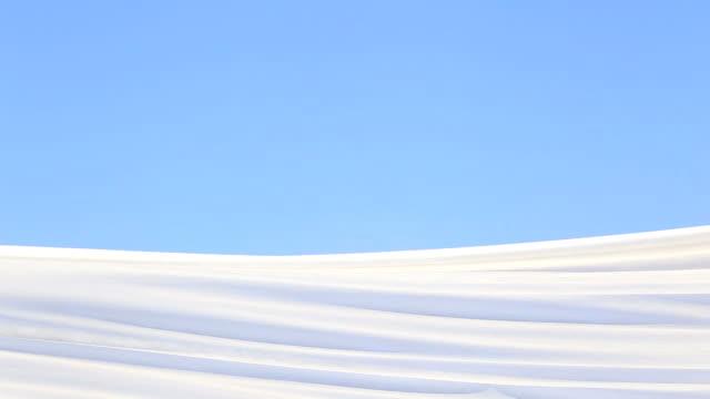 風が吹いて生地 - 布点の映像素材/bロール