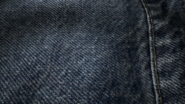 Fabric denim texture waveing background