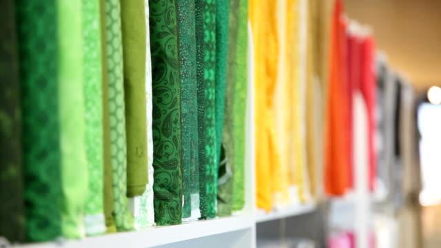 Fabric rack focus