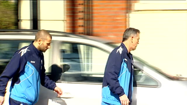 fabrice muamba in intensive care following his collapse on pitch during fa cup match london bethnal green the london chest hospital owen coyle... - bethnal green stock videos & royalty-free footage