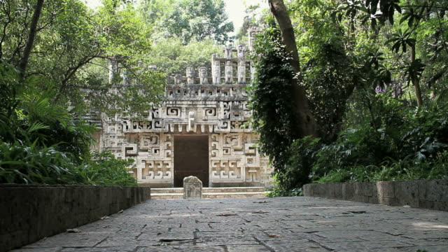 ws facade of ancient ornamental palace / mexico city, mexico, mexico - famous place stock videos & royalty-free footage