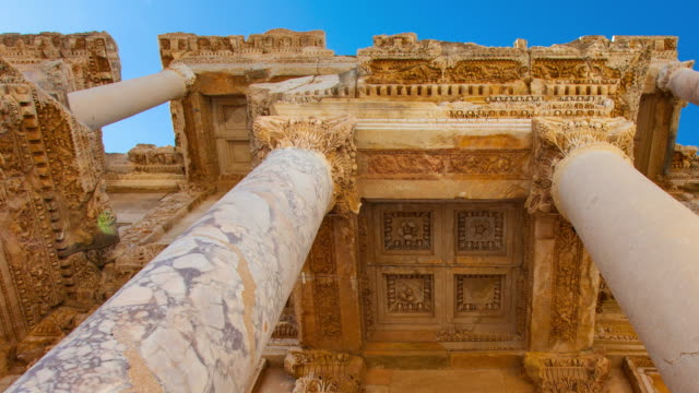 Facade of the Celsus Library in Efeso
