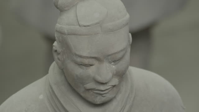 Face of a Terracotta warrior