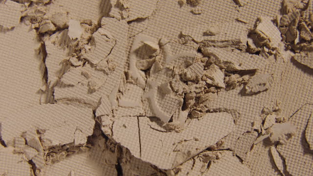 face powder broken texture rotating - blusher stock videos & royalty-free footage