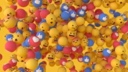 'Facebook' Emoji Balls - Floating #1