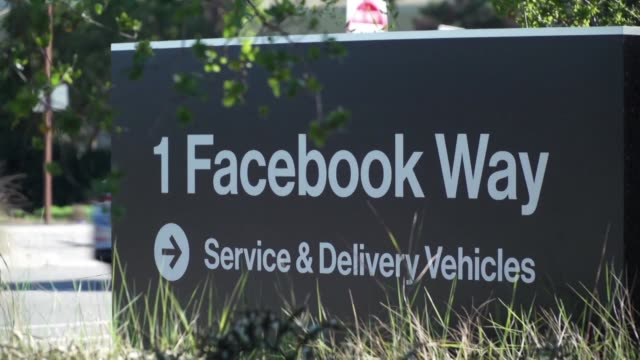 facebook shares tumbled 5.0 percent in opening trading following reports of a large data breach as us stocks fell ahead of a federal reserve policy... - social media followers stock videos & royalty-free footage