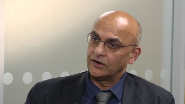 faces another criminal investigation into allegations its officers were party to guantanamo torture; england: london: int raju bhatt interview sot. - mi6 stock-videos und b-roll-filmmaterial