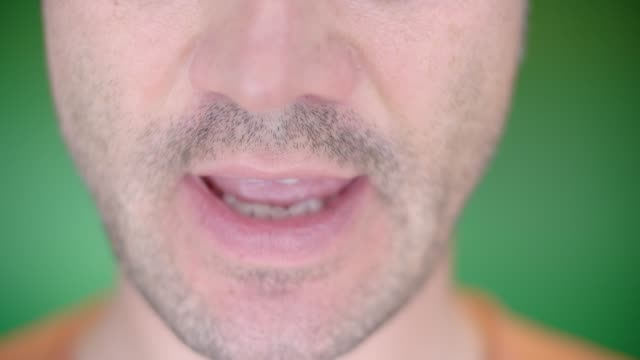 mimik - geöffneter mund stock-videos und b-roll-filmmaterial