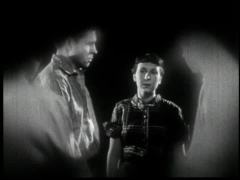 facing reality - 2 of 11 - facing reality film 1954 stock-videos und b-roll-filmmaterial