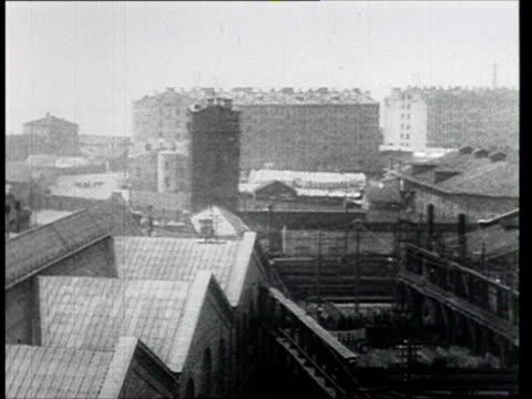 1914 B/W WS HA PAN Factories and industrial buildings in pre-revolutionary Russia/ Russia